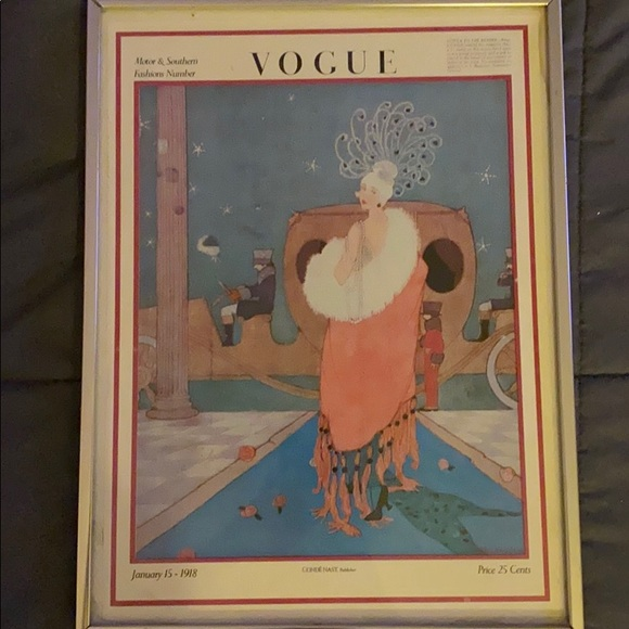 Vogue Other - Original 1918 Vogue Cover